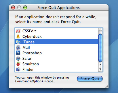 how to close programs mac