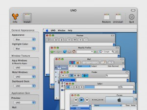 Screenshot of Uno for Mac OS X