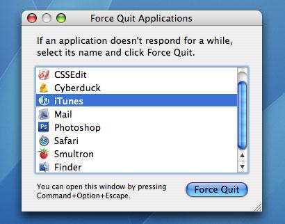 Force Quit Window